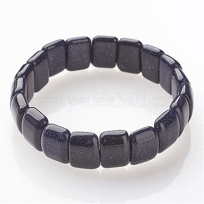 Goldstone 8 mm Round Stretchy String Bracelet b13