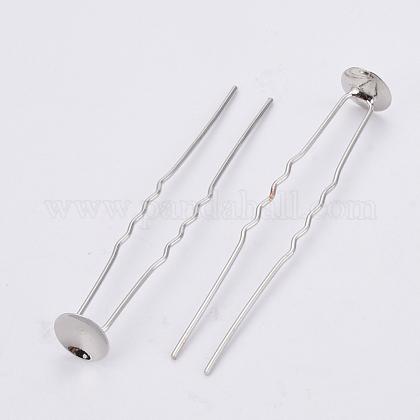 鉄のかんざしヘアフォークパーツIFIN-S698-03-1