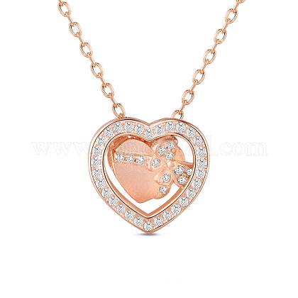 SHEGRACE® 925 Sterling Silver Pendant NecklaceJN636B-1