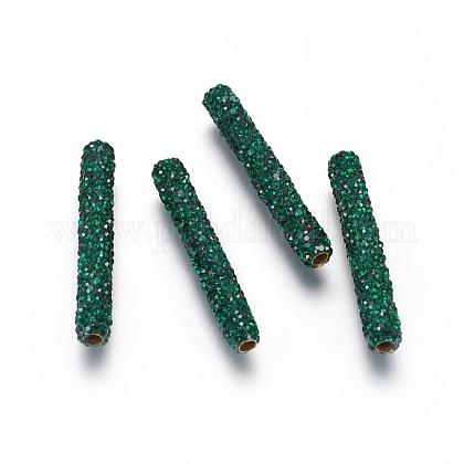 Brass Rhinestone BeadsRB-G166-02A-1