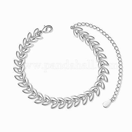Pulseras de cadena de eslabones de latón shegrace®JB572A-1