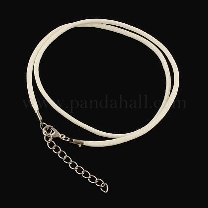 Algodón encerado el collar del cordónMAK-S032-1.5mm-122-1