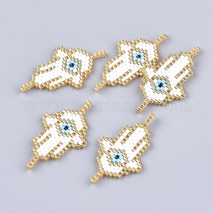 Handmade Japanese Seed Beads Links SEED-T002-05-1