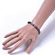 Polymer Clay Heishi Beads Beads Stretch BraceletsBJEW-JB04450-02-3