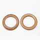 Wood Jewelry Findings Coconut Linking RingsX-COCO-O006B-04-2
