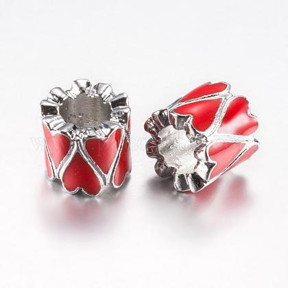 Perles d'émail en alliagePALLOY-F200-14A-1