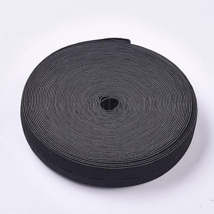 Cordón elástico plano / bandas con ojalX-OCOR-WH0052-40A-1