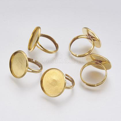Brass Ring ShanksKK-B021-C-1