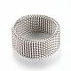 304 bases del anillo de dedo de acero inoxidableX-MAK-R010-19mm-2