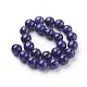 Natural Lapis Lazuli Beads StrandsG-G087-8mm-2
