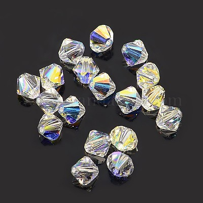 #5202 Panacolor Round Astral Aura Glass beads 6mm 80 beads