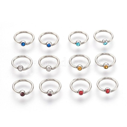 304 Stainless Steel Body JewelryX-AJEW-L071-G-1