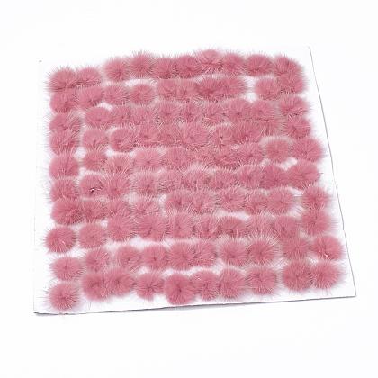 Faux Mink Fur Ball DecorationX-FIND-S267-4cm-09-1