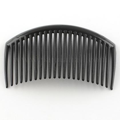 Accesorios para el cabello fornituras del peine del pelo de plásticoOHAR-S185-03-1
