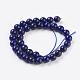 Natural Lapis Lazuli Beads StrandsG-G087-6mm-2