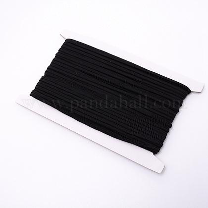 Cordón de goma elástico plano / bandaOCOR-WH0058-04A-1