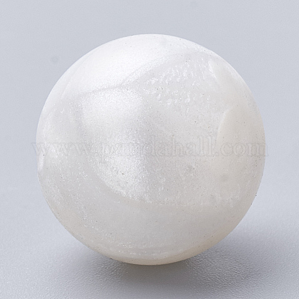 Abalorios de silicona ambiental de grado alimenticioSIL-R008B-21-1