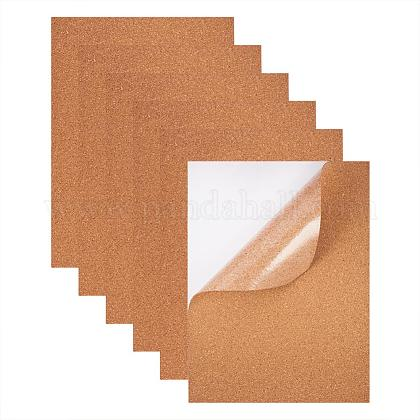 BENECREAT 8 Pack Self-Adhesive Cork Rectangle Insulation Cork Sheets for FloorsDIY-BC0009-21-1