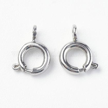 304 пружинное кольцо с гладкой поверхностью из нержавеющей сталиSTAS-O114-004B-P-1