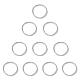 Marcos de cuentas de aleación sunnyclue®PALLOY-SC0001-40MS-1