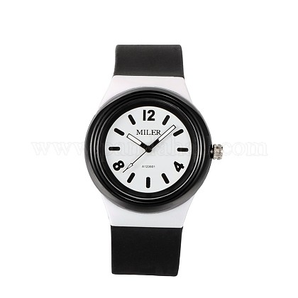 High Quality Children's 304 Stainless Steel Silicone Quartz Wrist Watches WACH-N016-07-1