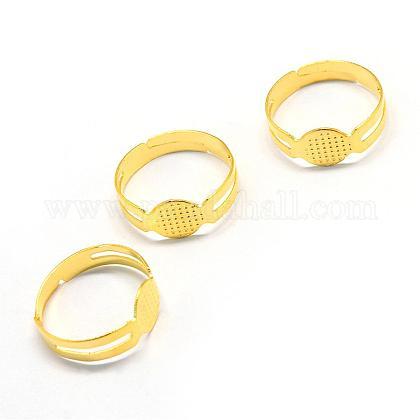 Bases del anillo de la almohadilla de hierro regulableMAK-Q006-39-1