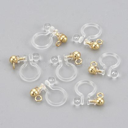 Plastic Clip-on Earring FindingsX-KY-S155-03B-1
