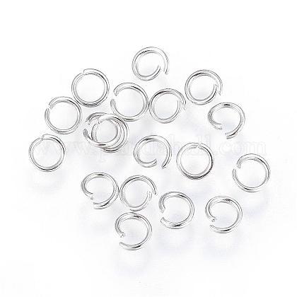 304 Stainless Steel Open Jump RingsSTAS-F110-08P-1
