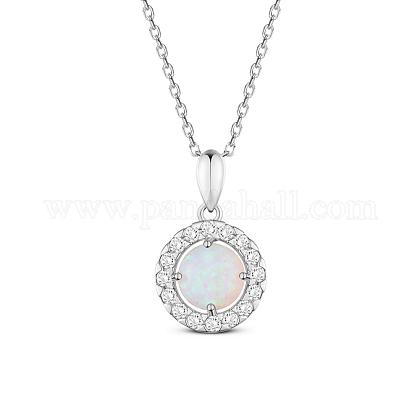SHEGRACE® 925 Sterling Silver Pendant NecklaceJN614B-1