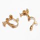 Brass Clip-on Earring FindingsX-KK-G287-M-LF-2