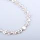 Rombos perlas barrocas naturales perlas keshi perlas hebrasPEAR-R015-05-1