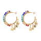Dangle Stud Earrings EJEW-JE04056-1
