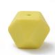 Abalorios de silicona ambiental de grado alimenticioSIL-Q009A-60-1