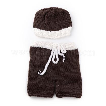 かぎ針編みのベビービーニーコスチュームAJEW-R030-57-1
