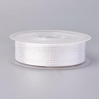 Ruban satin polyester simple faceSRIB-L041-25mm-A030-1