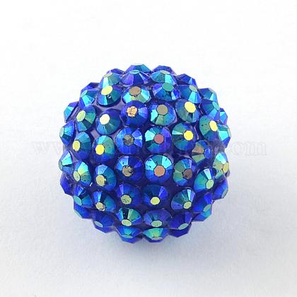 AB-Color Resin Rhinestone BeadsRESI-S315-16x18-17-1