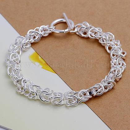 Pulseras de cadena de bronce unisexBJEW-BB12461-1