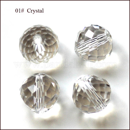 Imitation Austrian Crystal BeadsSWAR-F067-8mm-01-1