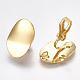 Brass Clip-on Earring FindingsKK-T038-246G-2