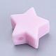 Abalorios de silicona ambiental de grado alimenticioSIL-T041-06-2