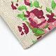 ポリコットン(ポリエステルコットン)パッキングポーチ巾着袋ABAG-T004-10x14-10-5
