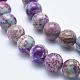 Natural Imperial Jasper Beads StrandsG-I122-10mm-15-3
