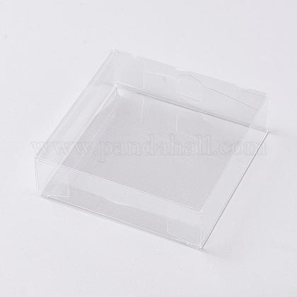 Foldable Transparent PVC BoxesCON-WH0069-56-1