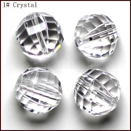 Imitation Austrian Crystal BeadsSWAR-F079-8mm-01-1