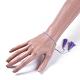 Adjustable Nylon Thread Charm BraceletsBJEW-JB04378-01-4