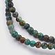 Natural African Turquoise Bead StrandsX-G-A130-2mm-L03-2