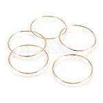 Brass Linking Rings, Ring, Nickel Free, Real 18K Gold Plated, 34.5x1.5mm