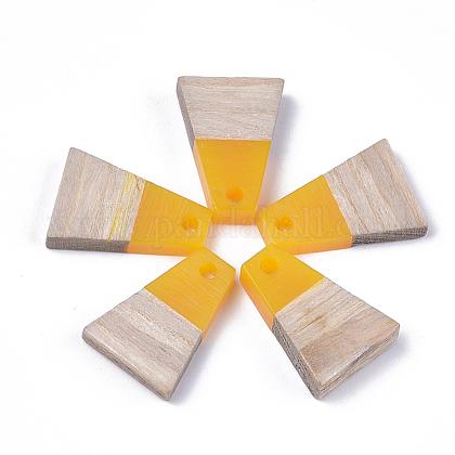 Colgantes de resina & maderaRESI-S358-52C-1