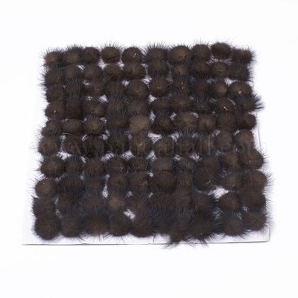 Faux Mink Fur Ball DecorationX-FIND-S267-2.5cm-01-1