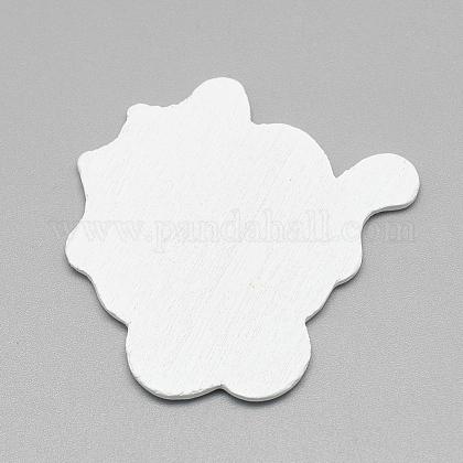 乳母車/ベビーカー印刷木材カボションWOOD-Q019-032-1